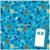 Presentpapper & etiketter med Doctor Who-motiv- 2 st