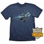DOTA 2 T-Shirt Drow Ranger + Ingame Code / Digital Unlock, LARGE