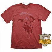 DOTA 2 T-Shirt Juggernaut + Digital Unlock, XL