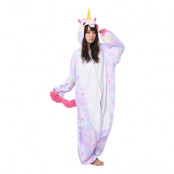 Enhörning Pastell Kigurumi - Medium