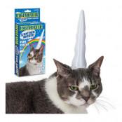 Uppblåsbart Enhörningshorn för Katter
