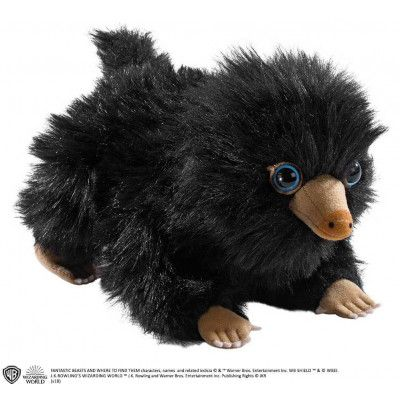 Fantastic Beasts - Black Baby Niffler Plush - 20 cm
