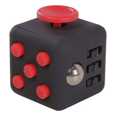Fidget Cube - Svart/Röd