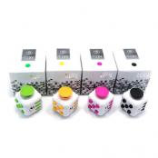Fidget Cube Fidget Toy - Gul/Svart