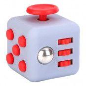 Fidget Cube - Grå/Röd