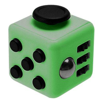 Fidget Cube - Grön/Svart