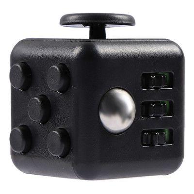 Fidget Cube - Svart/Svart