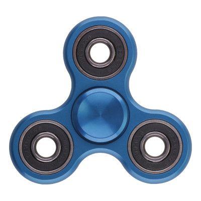 Fidget Spinner Aluminium - Blå