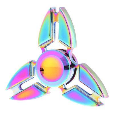 Fidget Spinner Triple Edge Metall