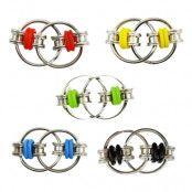 Flippy Chain Fidget Toy - Svart