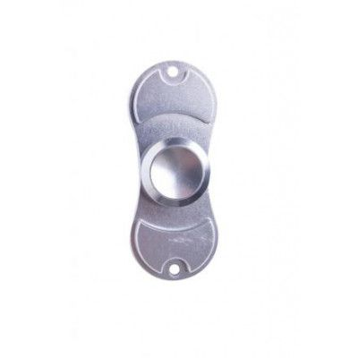 Hand Spinner Metall Dubbel-Silver