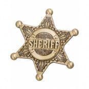 Hjälte Sheriff Metall Guldfärgad Fidget Spinner
