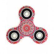Mandala Flower Art Fidget Spinner - Röd