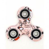 Rosa Abstraktmotiv Fidget Spinner