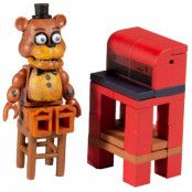 Five Nights at Freddy's - Micro Construction Set - Freddy Fazbear with Parts and Service