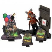 Five Nights at Freddy's - Micro Construction Set - Grimm Foxy with Corn Maze