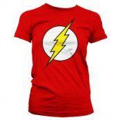 The Flash Emblem Girly T-Shirt, Girly T-Shirt