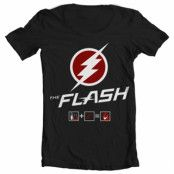 The Flash Riddle Wide Neck Tee, Wide Neck Tee