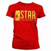 The Flash - Star Laboratories Girly T-Shirt, Girly T-Shirt