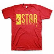 The Flash - Star Laboratories T-Shirt, Basic Tee