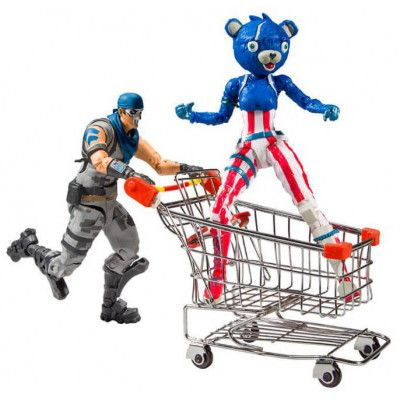 Fortnite - Shopping Cart Pack War Paint & Fireworks Team Leader