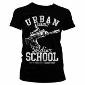 Urban Assault Soldier School Girly Tee, Girly Tee