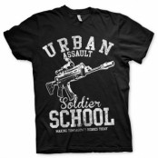 Urban Assault Soldier School T-Shirt, Basic Tee