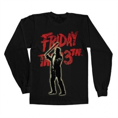 Friday The 13th - Jason Voorhees Long Sleeve Tee, Long Sleeve T-Shirt