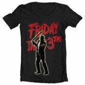 Friday The 13th - Jason Voorhees Wide Neck Tee, Wide Neck Tee