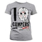 I Jason Campers Girly Tee, Girly Tee