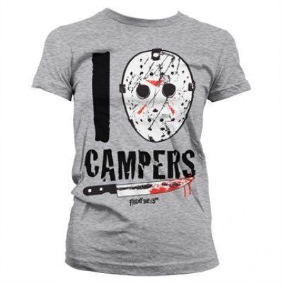 I Jason Campers Girly Tee, Girly Tee