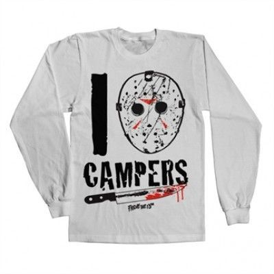 I Jason Campers Long Sleeve Tee, Long Sleeve T-Shirt
