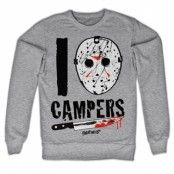 I Jason Campers Sweatshirt, Sweatshirt