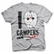 I Jason Campers T-Shirt, Basic Tee