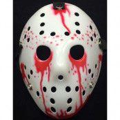 Jason Fredag den 13 Inspirerad Vit Blodig Hockeymask