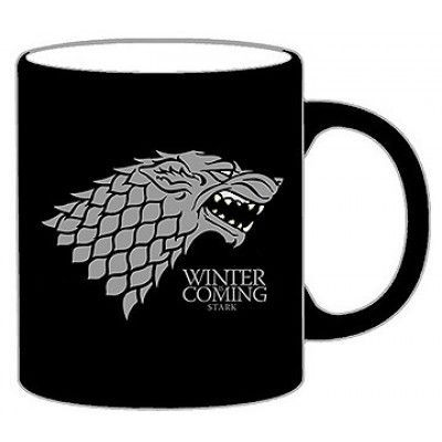 Game of Thrones - Stark Crest Black - Mug