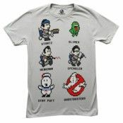 Ghostbusters - 8-Bit Busters T-Shirt, Basic Tee