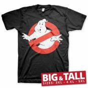 Ghostbusters Distressed Logo Big & Tall T-Shirt, Big & Tall T-Shirt