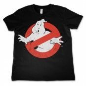 Ghostbusters Distressed Logo Kids T-Shirt, Kids T-Shirt