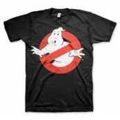 Ghostbusters Distressed Logo T-Shirt, Basic Tee