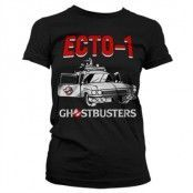 Ghostbusters - Ecto-1 Girly T-Shirt, Girly T-Shirt