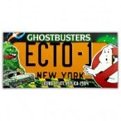 Ghostbusters - ECTO-1 License Plate Replica - 1/1