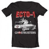 Ghostbusters - Ecto-1 Wide Neck Tee, Wide Neck T-Shirt