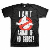 Ghostbusters I Ain´t Afraid T-Shirt Svart, SMALL