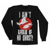 I Ain´t Afraid Of No Ghost LS T-Shirt, Long Sleeve T-Shirt
