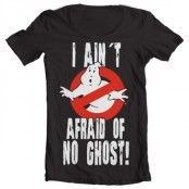 I Ain´t Afraid Of No Ghost Wide Neck Tee, Wide Neck T-Shirt