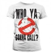 Who Ya Gonna Call? Girly T-Shirt, Girly T-Shirt