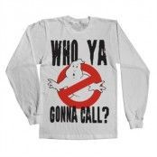 Who Ya Gonna Call? LS T-Shirt, Long Sleeve T-Shirt