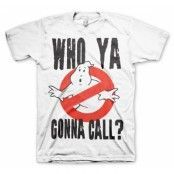 Who Ya Gonna Call? T-Shirt, Basic Tee