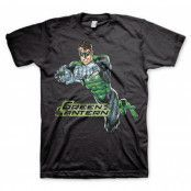 Green Lantern Distressed T-Shirt, Basic Tee